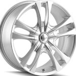 Sacchi S2 220 Hyper Silver Wheel (15×7″/9x108mm)